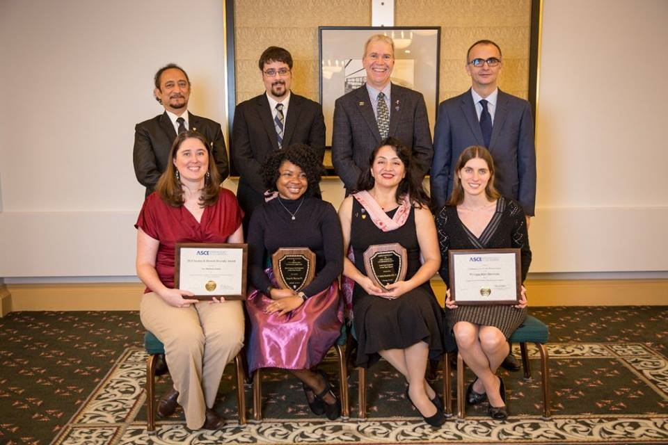 ASCE-Pittsburgh Board Members at the 2016 E-Week Awards Banquet