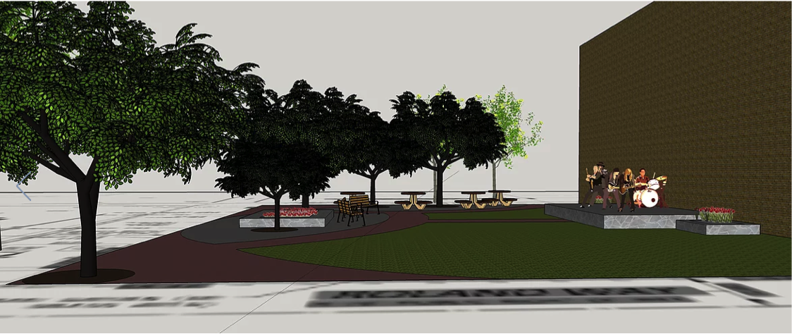 Esser Plaza Revitalization Project, Local - EWB Pittsburgh Professional Chapter