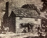 Sketch of Original Cabin
